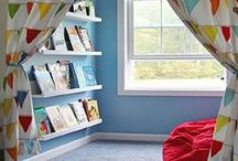 Boy's Bedroom / Clever ideas and inspiration for creating a perfect boy's den! #boys #bedroom #den