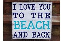 Beach House Decor / Inspiration for decorating your beach rental house.