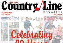 CLM Magazine Covers / Monthly covers for Country Line Magazine countrylinemagazines.com