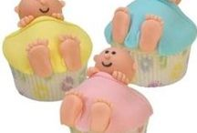 Baby Shower Cupcakes / All baby shower cupcakes - girls and boys.