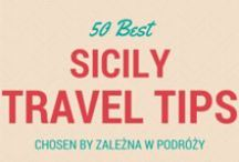 EUR.IT II Sicily Travel Tips II / 50 best travel tips about Sicily in Italy. Sicilian food, sicilian wine, places to see and stunning beaches.