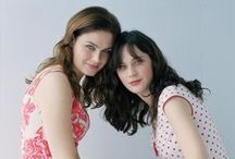 Movies - Actress - Deschanel Sisters / by Roger Webb