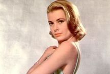 Movies - Actress - Grace Kelly / movie starlet, fairy tale Princess, real life woman whose life was no fairy tale yet like a true woman of character she made the best of all things / by Roger Webb