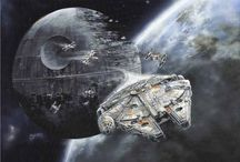 Famous Spaceships / Spaceships from Star Wars, Star Trek, Battlestar Galactica and other science fiction sources.  / by Dan Stargate