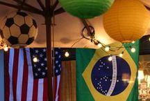 World Cup Soccer Futbol Parties / Decor, Food & Ideas for soccer parties