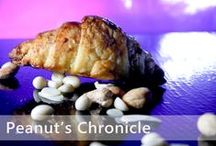Peanut's Chronicle / Yes! It's peanut's chronicle. a soft layered puff combined with chunky chopped cashew, almond, & ground nuts. and added with a hint of cinnamon powder and luscious pastry cream. enough to cause a popping sensation in your mouth. Trust us when we say it is a journey within, so prepare yourself and grab it while you can!