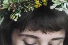 floral-crown / floral crowns / by Haemin Kang