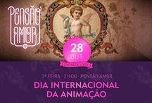 Bang Awards Festival | International Animation Day | Pensão Amor | Lisbon / O Festival Bang Awards é um projeto de origem portuguesa que conta com mais de 400 curtas-metragens de animação de artistas oriundos de 47 nacionalidades. É promovido pelo Município de Torres Vedras (Portugal) e Ouro Preto (Brasil), sendo organizado pela Nau Identidade e produzido pela Slingshot - Comunicação e Multimédia   Convidamos a visualizar o vídeo que sintetiza a participação do Bang Awards no 11º Open Day na LXFactory em Lisboa : https://vimeo.com/80492998  www.bang-awards.com