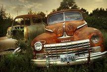 Old cars / Láska k autům a Top Gearu se nezapře. Krásná stará auta by měl mít každý.