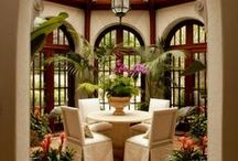 Elegant Dining and Living Rooms / A time to come together and share with your family and friends. El espacio para compartir con la familia. Livingrooms with furniture that invite comfort and relaxation with a touch of elegance. Salas que te invitan a relajar !