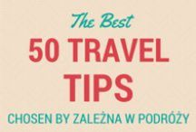II General Travel Tips II / 50 best travel tips you can find in the Internet. No bullshit - just the best stuff!  #travel #travelblog #traveltips #packing #flying