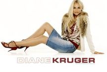 Movies - Actress - Diane Kruger / Diane Kruger (German pronunciation: [diˈa:nə ˈkru:ɡɐ]; born Diane Heidkrüger; 15 July 1976) is a German actress and former fashion model. She is known for roles such as Helen in the epic war film Troy (2004), Dr. Abigail Chase in the adventure/heist film National Treasure (2004) and its sequel (2007), Bridget von Hammersmark in the Quentin Tarantino-directed war film Inglourious Basterds (2009), Anna in the sci-fi drama Mr. Nobody (2009). / by Roger Webb