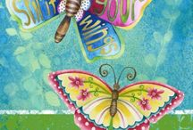 Painted wings / by Jennifer Wohlers