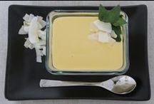 RECETTES: Desserts et entremets / Recettes  de desserts, glaces, mousses, crèmes...