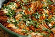 RECETTES: Accompagnements / Légumes, riz, pâtes, céréales, gratins...