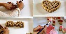 DIY / Faça você mesmo / peças de artesanato