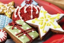 Frosted Holidays / Whether you top homemade holiday treats with fondant, frosting or just a sprinkle of powdered sugar, make sure to celebrate year-end festivities with something the famiglia will love. All you need are the right tools and a touch of Cake Boss creativity.