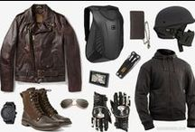 biker boots and clothes