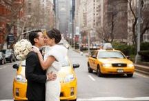 """New York City wedding ideas / With finding the one then finding """"the one"""" at Forever Amour Bridal Boutique, next step is making sure everything falls into place. City woman turns city bride."""