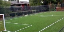 Home Soccer Pitch & Putting Green