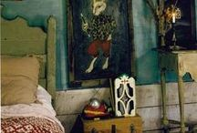 rustic/eclectic interiors / interiors and small dwellings / by Linda mosaicbiz