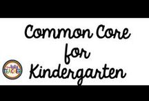 Common Core Kinder / This board is full of great ideas, FREE downloads, printables, resources, and more to help you teach the Common Core State Standards in your Kindergarten classroom. You'll love the new techniques and strategies found here! Stick around! CCSS