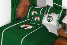 Boston Celtics Merchandise, Bedding, Decor & Gifts / Boston Celtics Merchandise is an incredible way to decorate your home & office to create your own Celtics fan zone in your bedroom, kid's bedroom, game room, study, kitchen, living room, and even the bathroom. Also awesome as Boston Celtics fan gifts. Show off your Celtics team spirit today!