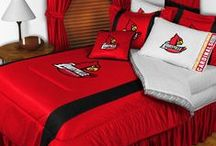 Louisville Cardinals Merchandise, Bedding, Decor & Gifts / Louisville Cardinals Merchandise is an ingenious way to decorate your home & office to create your own Cardinals fan zone in your bedroom, kid's bedroom, game room, study, kitchen, living room, and even the bathroom. Also perfect as Louisville Cardinals Merchandise fan gifts. Show off your Cardinals team spirit today!
