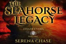 THE SEAHORSE LEGACY (Eyes of E'veria book 3) / Images that inspire the writing of the 3rd book in this series. Find it, as well as book 1 THE RYN and book 2 THE REMEDY at amazon.com
