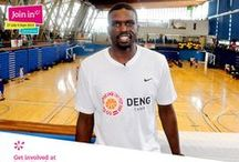 Join In Summer 2013 - Luol Deng in Crystal Palace / NBA superstar (and Barack Obama's favourite basketball player) Luol Deng hosted a week-long basketball camp in Crystal Palace recently. We dropped in to find out more and talk about volunteering with GB's most famous basketball player.