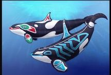 "Orcas Of The World / The ""Haida"" regarded KillerWhales as the most powerful Animals in the Ocean, and their mythology tells of KillerWhales living in Houses and Towns under the Sea. According to these myths, they took on human form when submerged, and humans who drowned went to live with them. For the ""Kwakwaka'wakw"", the Killerwhale was regarded as the Ruler of the Undersea World, with SeaLions for Slaves and Dolphins for Warriors! Anti-Captivity! - All Marine Mammals Belong in the Ocean, not in a concrete Tank!"