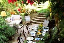 Garden and terrace / Home garden and terrace inspirations