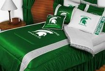Michigan State Spartans Merchandise , Bedding, Decor & Gifts / Michigan State Spartans merchandise is an incredible way to decorate your home & office to create your own Spartans fan zone in your bedroom, kid's bedroom, game room, study, kitchen, living room, and even the bathroom. Also perfect as Michigan State Spartans fan gifts. Show off your Spartans team pride today!