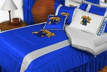 Kentucky Wildcats Merchandise, Bedding, Decor & Gifts / Kentucky Wildcats Merchandise is an awesome way to decorate your home & office to create your own Wildcats fan zone in your bedroom, kid's bedroom, game room, study, kitchen, living room, and even the bathroom. Also stylish as Kentucky Wildcats fan gifts. Show off your Wildcats team spirit today!