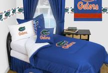 Florida Gators Merchandise, Bedding, Decor & Gifts / Florida Gators Merchandise is an awesome way to decorate your home & office to create your own Gators fan zone in your bedroom, kid's bedroom, game room, study, kitchen, living room, and even the bathroom. Also magnificent as Florida Gators fan gifts. Gators Fans - Show off your team spirit today!