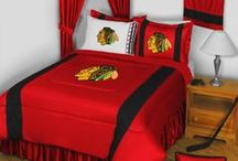 Chicago Blackhawks Merchandise / Chicago Blackhawks merchandise is a perfect way to decorate your home & office to create your own Blackhawks fan zone in your bedroom, kid's bedroom, game room, study, kitchen, living room, and even the bathroom. Also great as Chicago Blackhawks fan gifts. Show off your Blackhawks team pride today! A perfect way to make other Chicago Blackhawks fans envious & celebrate another Stanley Cup Championship!