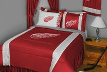 Detroit Red Wings Merchandise, Bedding, Decor & Gifts / Detroit Red Wings merchandise is an ingenious way to decorate your home & office to create your own Red wings fan zone in your bedroom, kid's bedroom, game room, study, kitchen, living room, and even the bathroom. Also wonderful as Detroit Red Wings fan gifts. Show off your Red wings team pride today!