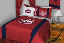 Montreal Canadiens Merchandise, Bedding, Decor & Gifts / Montreal Canadien merchandise is an exquisite way to decorate your home & office to create your own Canadien fan zone in your bedroom, kid's bedroom, game room, study, kitchen, living room, and even the bathroom. Also great as Montreal Canadien fan gifts. Show off your Canadien team pride today!