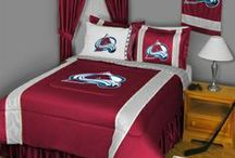 Colorado Avalanche Merchandise, Bedding, Decor & Gifts / Colorado Avalanche Merchandise is a perfect way to decorate your home & office to create your own Avalanche fan zone in your bedroom, kid's bedroom, game room, study, kitchen, living room, and even the bathroom. Also awesome as Colorado Avalanche fan gifts. Show off your Avalanche team pride today!
