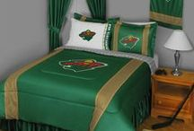 Minnesota Wild Merchandise, Bedding, Decor & Gifts / Minnesota Wild Merchandise is a wonderful way to decorate your home & office to create your own Wild fan zone in your bedroom, kid's bedroom, game room, study, kitchen, living room, and even the bathroom. Also unique as Minnesota Wild fan gifts. Show off your Wild team pride today!