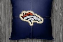 Denver Broncos Merchandise, Bedding, Decor & Gifts / Denver Broncos Merchandise is an incredible way to decorate your home & office to create your own Broncos fan zone in your bedroom, kid's bedroom, game room, study, kitchen, living room, and even the bathroom. Also great as Denver Broncos fan gifts. Show off your Broncos team spirit today!