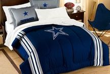 Dallas Cowboys Merchandise, Bedding, Decor & Gifts / Dallas Cowboys Merchandise is an awesome way to decorate your home & office to create your own Cowboys fan zone in your bedroom, kid's bedroom, game room, study, kitchen, living room, and even the bathroom. Also magnificent as Dallas Cowboys fan gifts. Cowboys Nation - Show off your team spirit today!