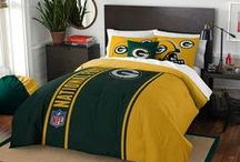 Green Bay Packers Merchandise, Bedding, Decor & Gifts / Green Bay Packers Merchandise is an awesome way to decorate your home & office to create your own Packers fan zone in your bedroom, kid's bedroom, game room, study, kitchen, living room, and even the bathroom. Also magnificent as Green Bay Packers fan gifts. Packers Nation - Show off your team spirit today!