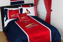St. Louis Cardinals Merchandise, Bedding, Decor & Gifts / St. Louis Cardinals Merchandise is an awesome way to decorate your home & office to create your own Cards fan zone in your bedroom, kid's bedroom, game room, study, kitchen, living room, and even the bathroom. Also magnificent as St. Louis Cardinals fan gifts. Cardinals Fans - Show off your team spirit today!