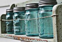 ♥..Mason jars....♥..