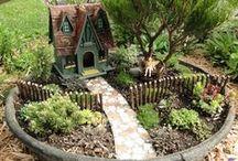 Gnomes, fairies, elves and their homes