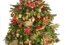 Tree Decoration Inspiration / These are our decorated options! FESTIVE, CLASSIC, and DELUX!
