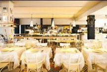 Le Restaurant / A l'image de La Co(o)rniche, le Restaurant se veut également un lieu de pure qualité française, qui invite à une pause culinaire dans un endroit enchanteur.