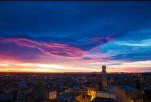 #Figueres / La ciudad de Figueres de día y de noche.