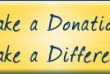 DONATE!! / Charities to consider donation